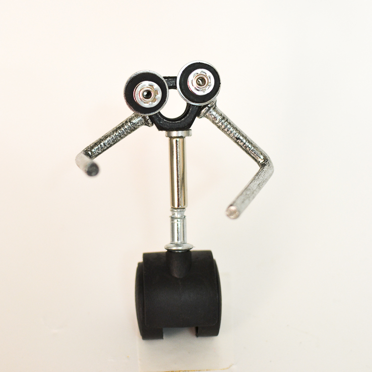 Magnetic scrap metal sculptures, robots and machines. Our handmade metal Wall-e!