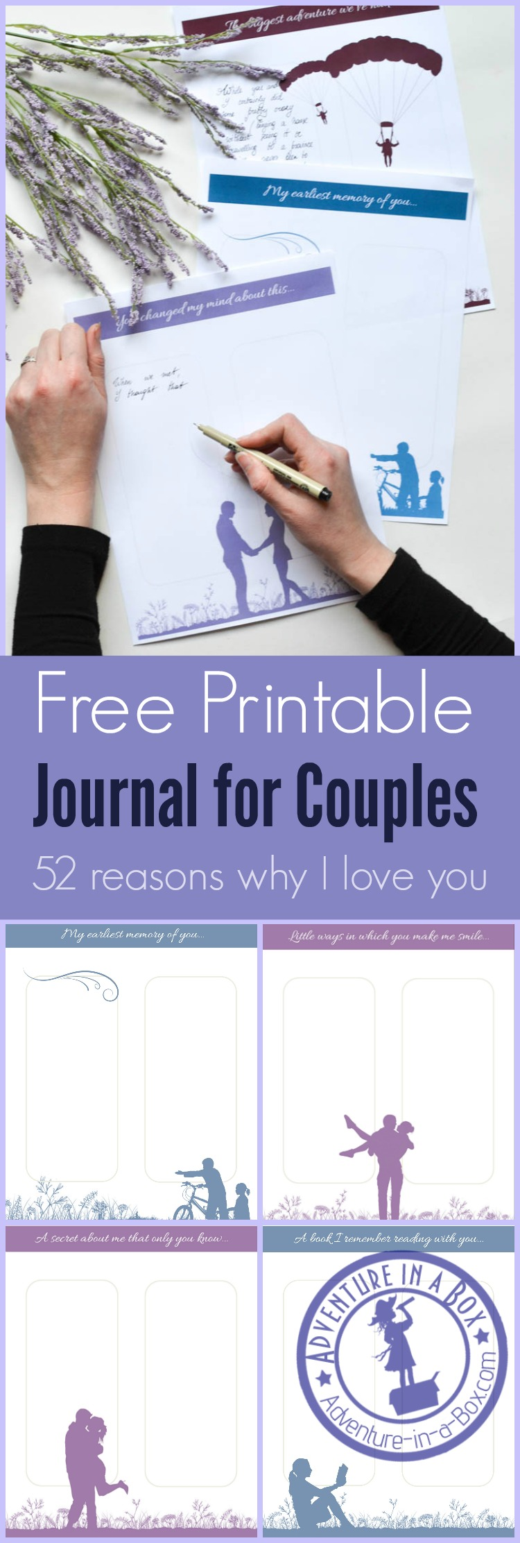 52 reasons why i love you free printable q a journal for for 52 reasons why i love you cards templates free