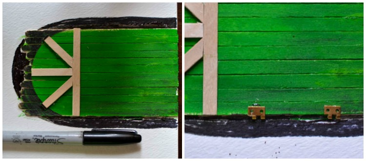 Make a DIY Fairy Door from Craft Sticks & Rocks | Adventure
