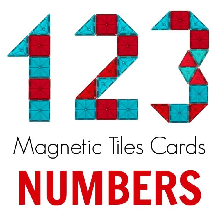Magna-tiles activities