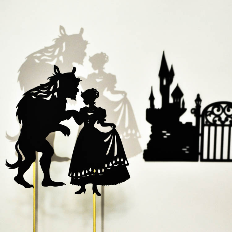 Beauty and the Beast: Shadow Puppets
