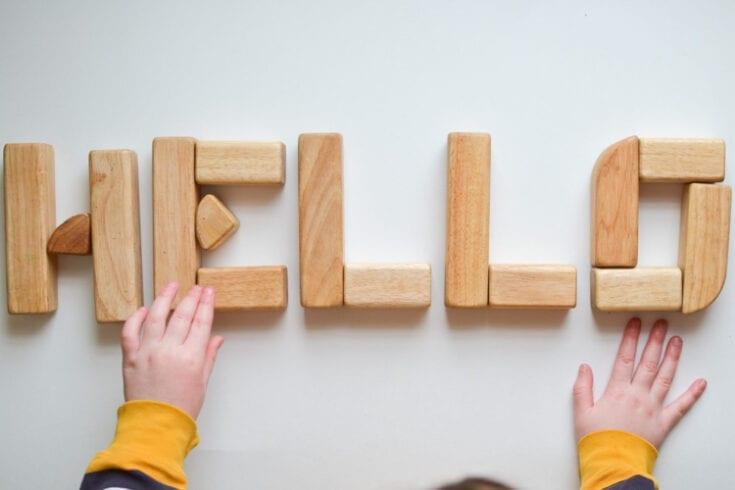 Wooden Block Alphabet