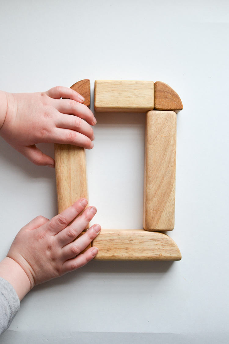 Wooden Block Alphabet Free Printable