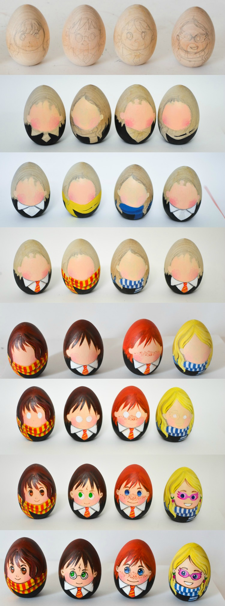 Harry Potter Book Easter Eggs : How to paint harry potter easter eggs adventure in a box