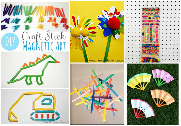 25 Craft Stick Projects For Kids Adventure In A Box