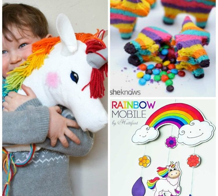 30 Ways to tame the RAINBOW with KIDS