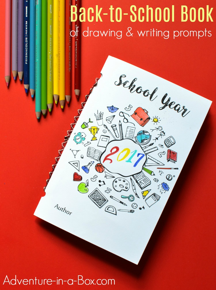 As a first-day-of-school tradition, make this little back-to-school book together with kids! Filled with writing and drawing prompts, it makes for a fun keepsake for parents and a creative way for teachers to get to know their students on the first day of school.