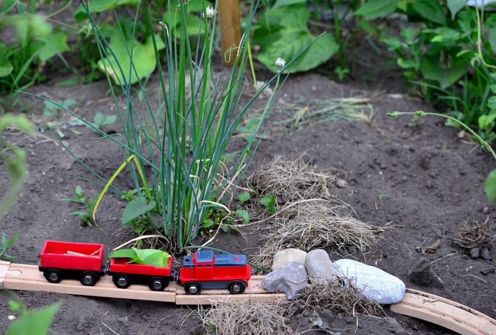 Backyard Railroad Engineering: Outdoor STEM Challenge for Kids