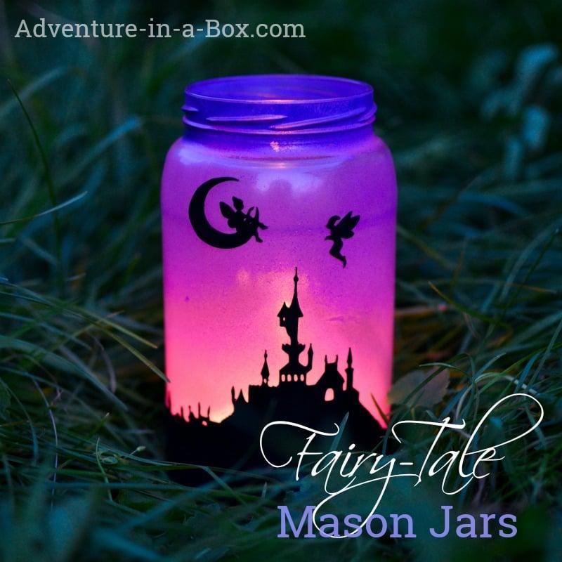 Fairy-Tale Lanterns: Printable Silhouettes