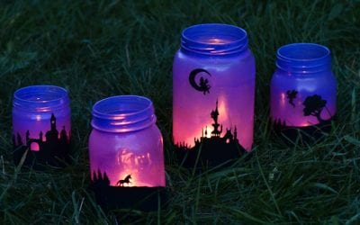 Fairy Tale Mason Jar Lanterns
