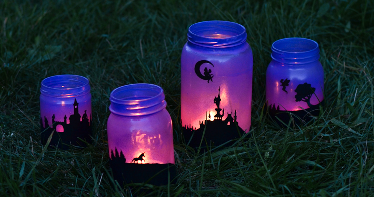 Fairy Tale Mason Jar Lanterns | Adventure in a Box