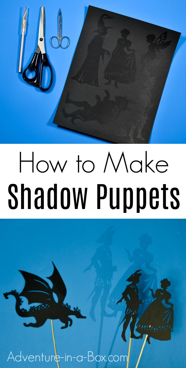 Learn how to make shadow puppets and start your own shadow puppet theatre at home!