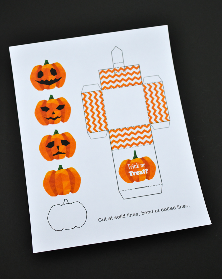 jack in the box paper toy with a free printable template
