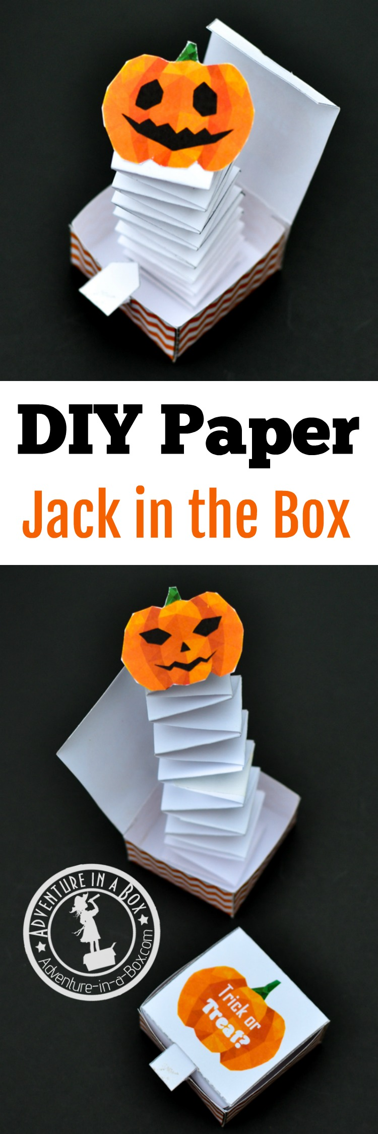 photograph about Jack in the Box Printable Application titled Jack within the Box Paper Toy with a Free of charge Printable Template