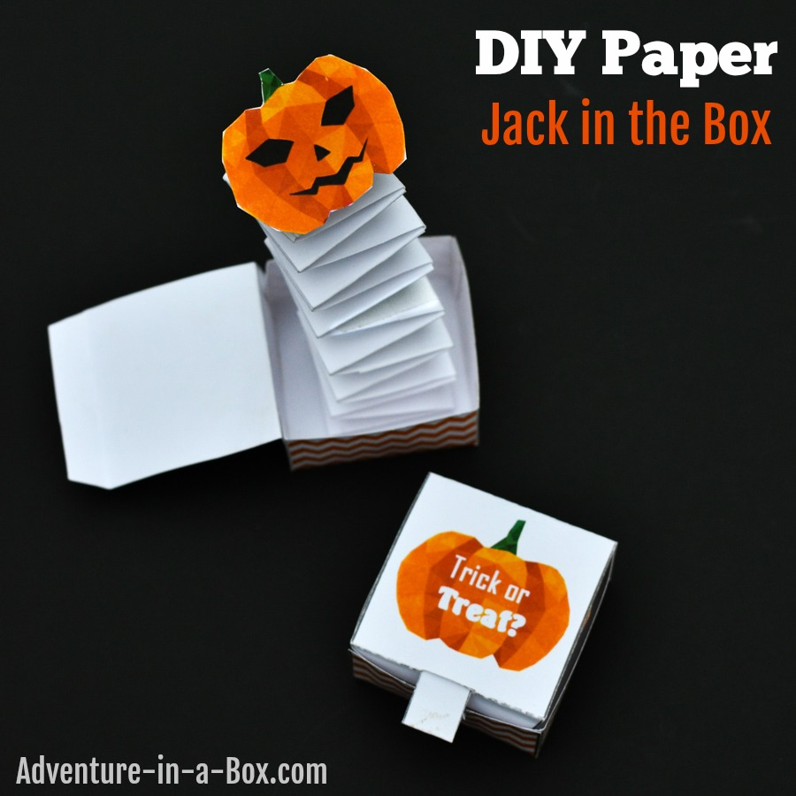 photo about Jack in the Box Printable Application identified as Do it yourself Jack inside the Box Toy: Free of charge Printable Structure