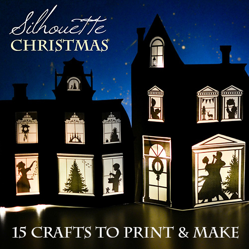 Christmas Silhouette Crafts