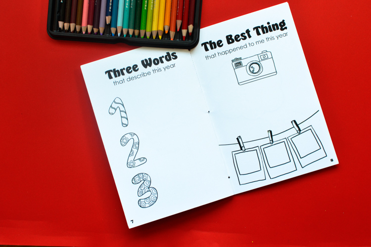 Best of the Year: Free Printable Journal for Kids to Fill on New Year's Eve
