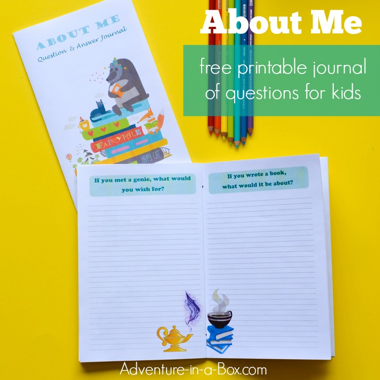 photograph relating to Printable Writing Prompts identified as Pertaining to Me: Totally free Printable QA Magazine of Crafting Prompts for