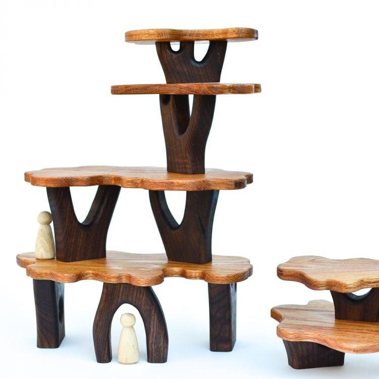 Brilliant Diy How To Make Tree House Blocks Adventure In A Box Home Interior And Landscaping Mentranervesignezvosmurscom