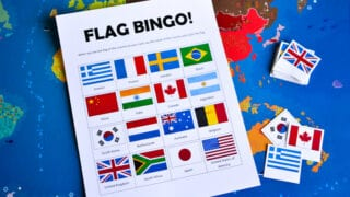 Flags of the World: Bingo Game