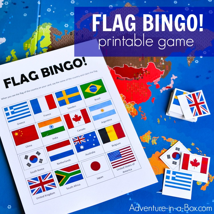image relating to Printable Flags named Flags of the Globe Bingo: Printable Sport for Young children