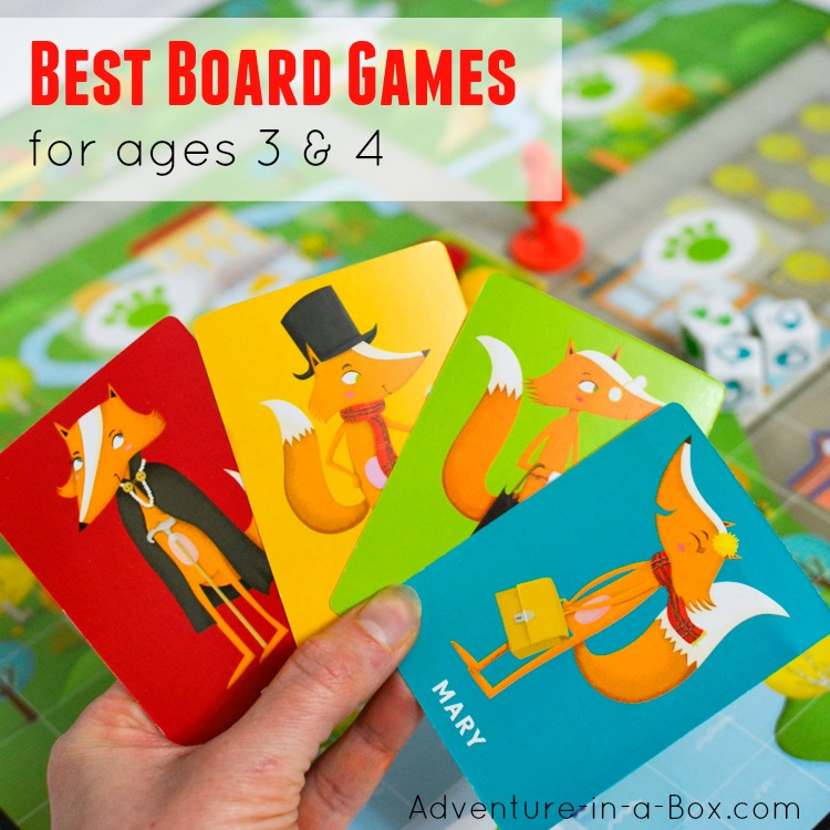 Board Games for Preschools | Adventure in a Box