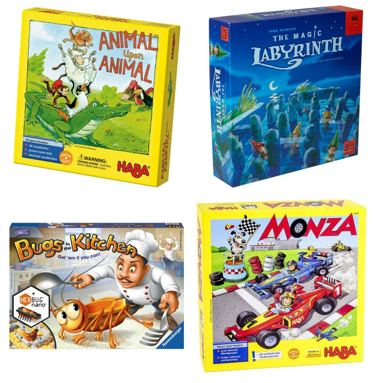 Best Competitive Board Games for Preschoolers