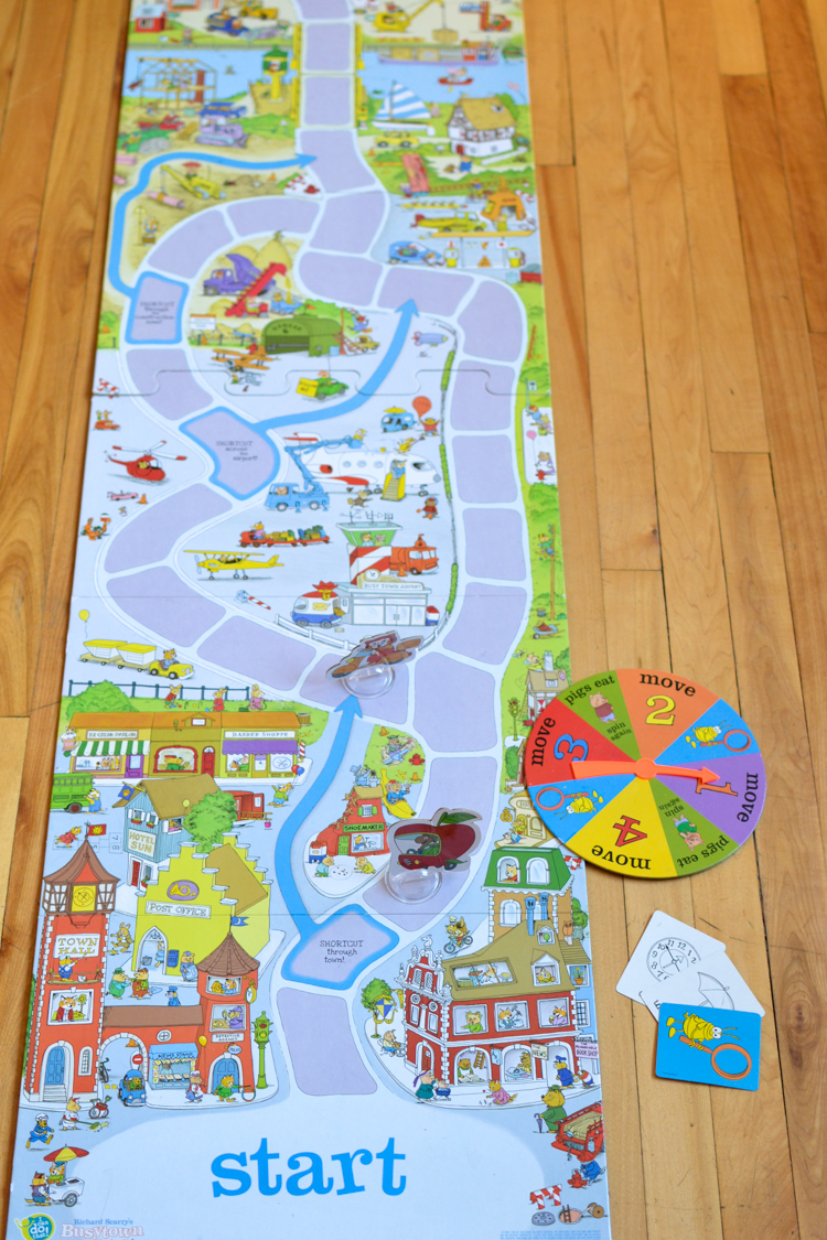Richard Scarry's Busytown, Eye Found It: Best Board Games for Preschoolers Review