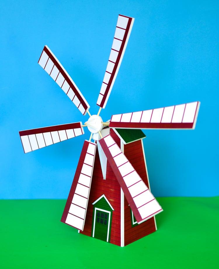 Printable Windmill Plan