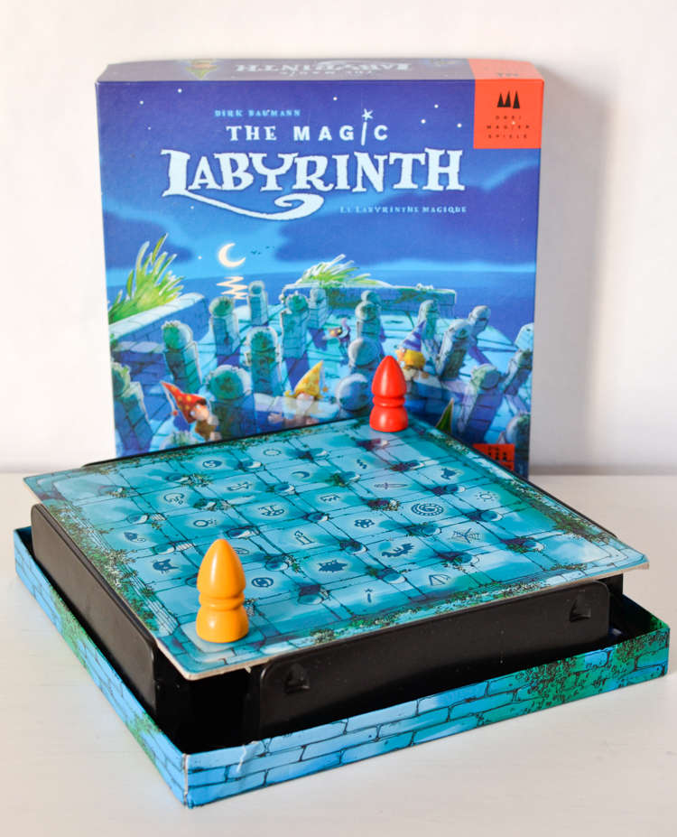 The Magic Labyrinth Board Game Review