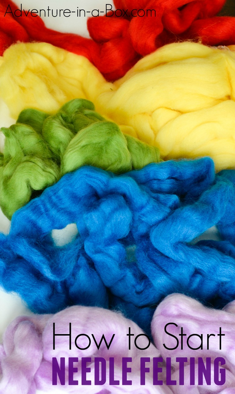 If you like acquiring new crafts or always wanted to try needle felting in particular, this is a tutorial to get you started. Included are my recommendations for basic needle felting tools and a few simple needle felting techniques to try!