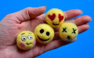 Make Emoji Craft: Needle Felting for Kids