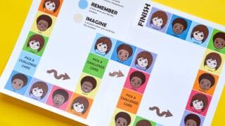 Emotions: Printable Board Game