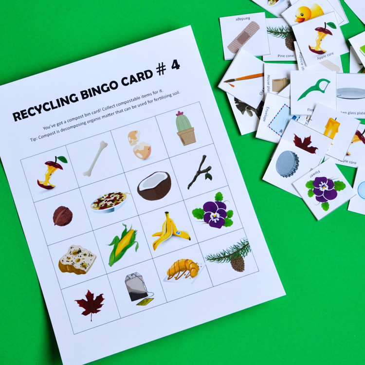 Printable Recycling Games For Kids Bundle Adventure In A Box