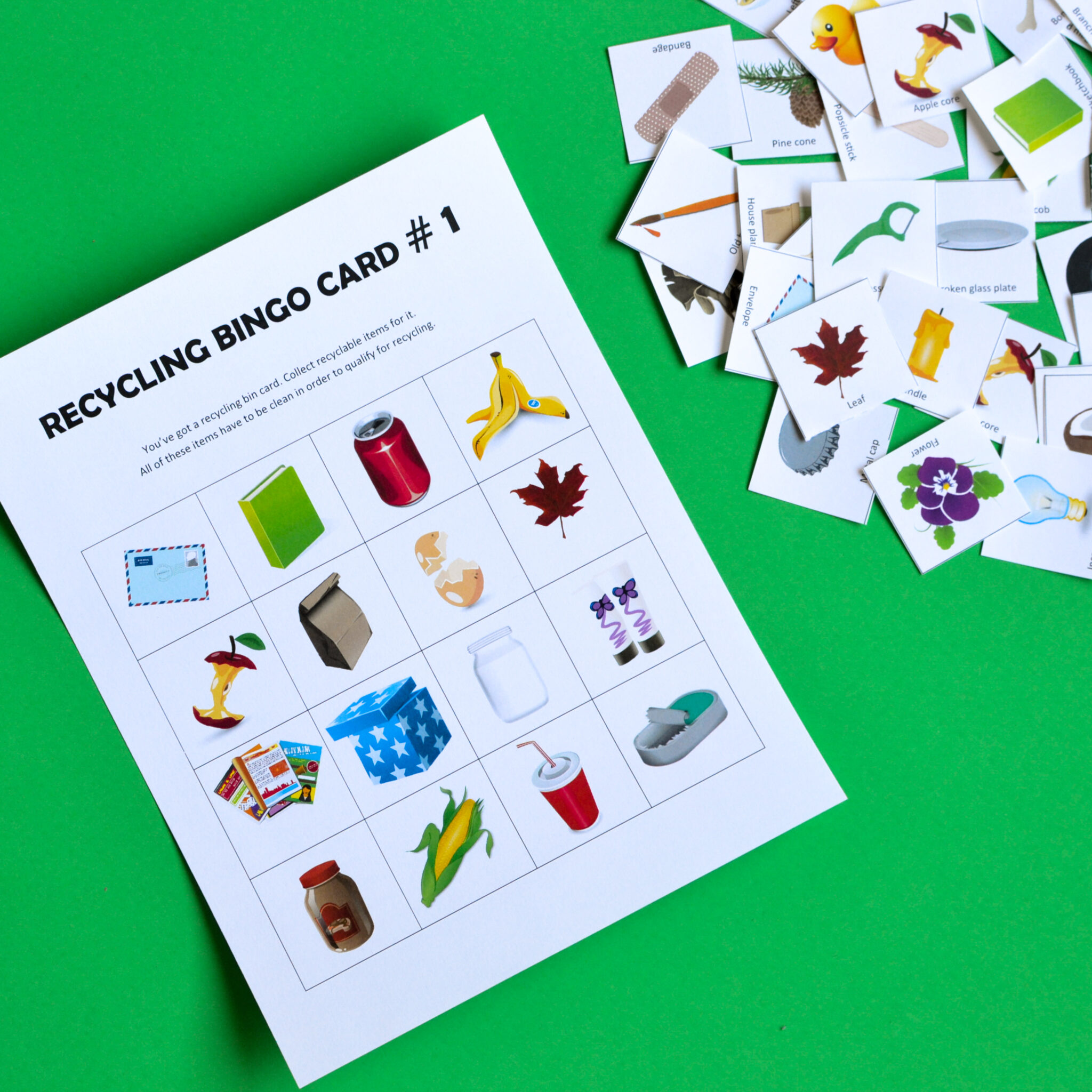 Free Home Design Create Play Educational Quiz Games: Printable Recycling Games For Kids Bundle