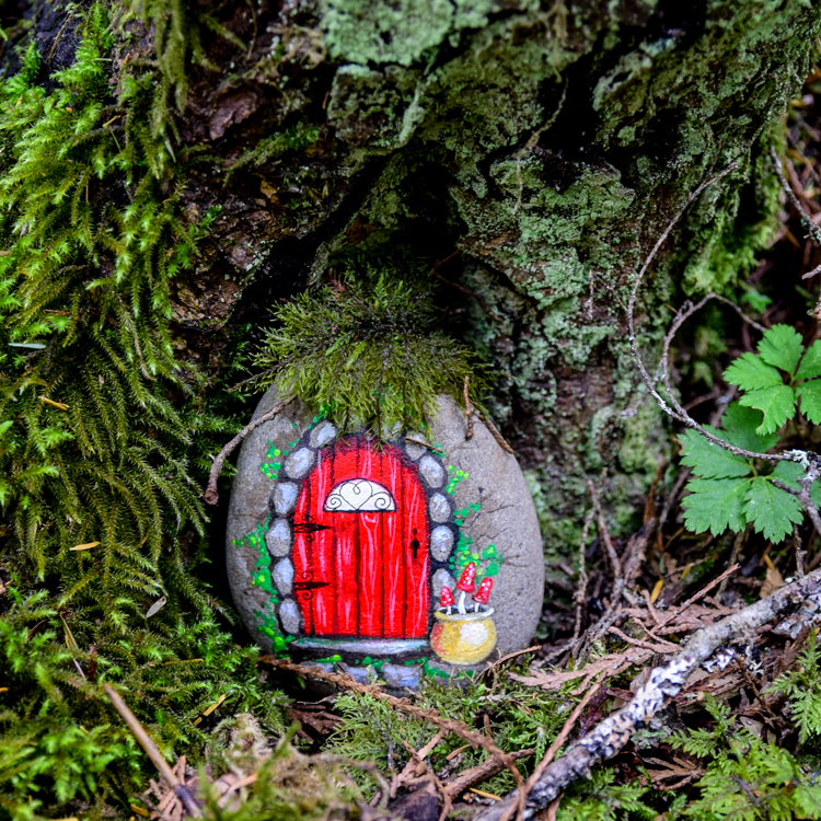 Diy Fairy Doors From Painted Rocks Adventure In A Box