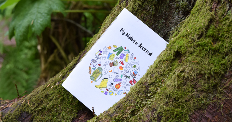 Printable Nature Journal with Creative Prompts for Kids