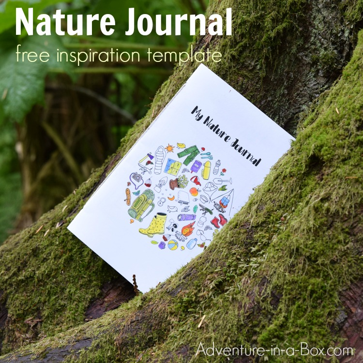 nature journal printable template prompts writing creative adventure printables box science outside stem write perfect study appreciation