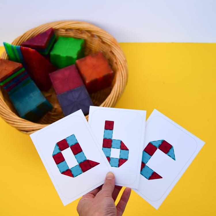 Magna Tiles Letters