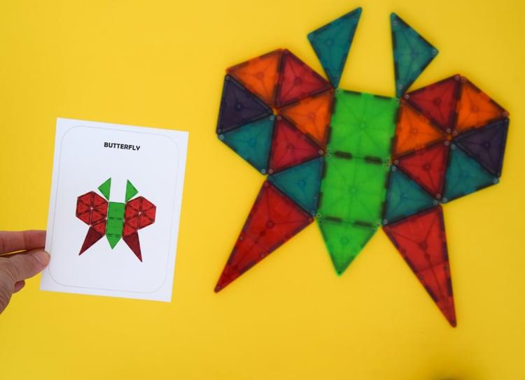 Magna Tile 2D Designs