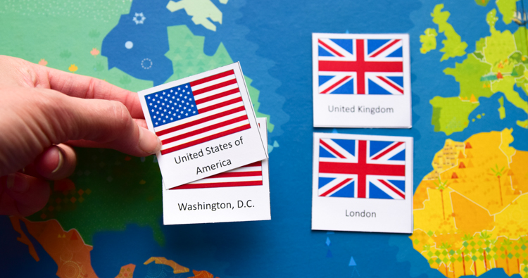 Countries & Capitals of the World: Memory Matching Game