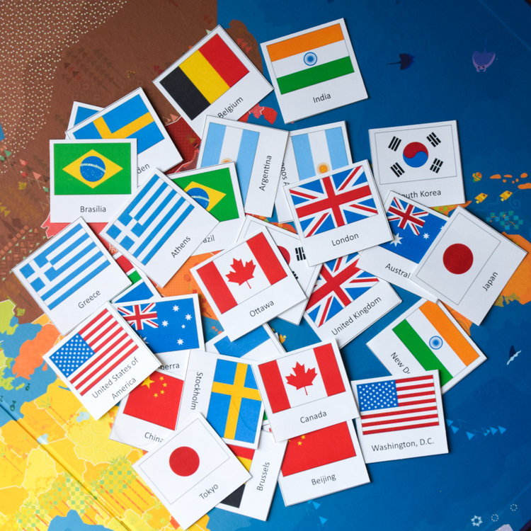 This is a graphic of Lucrative Flags of the World Printable Pdf