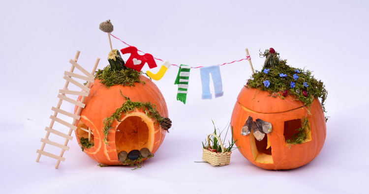 Pumpkin House: Autumn Engineering Project for Kids