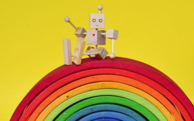 How to Make Simple Articulated Robots with Kids