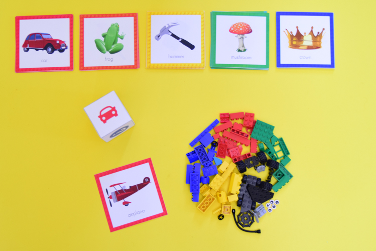 picture about Printable Pictionary Cards identified as LEGO Charades LEGO Pictionary LEGO Creationary Totally free