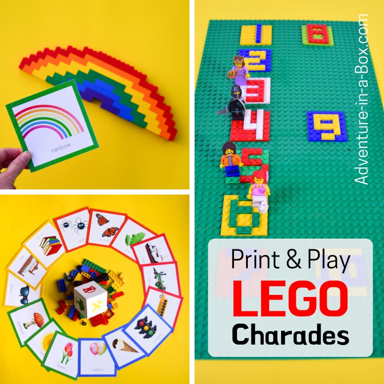 image about Printable Pictionary Cards named LEGO Charades LEGO Pictionary LEGO Creationary Totally free