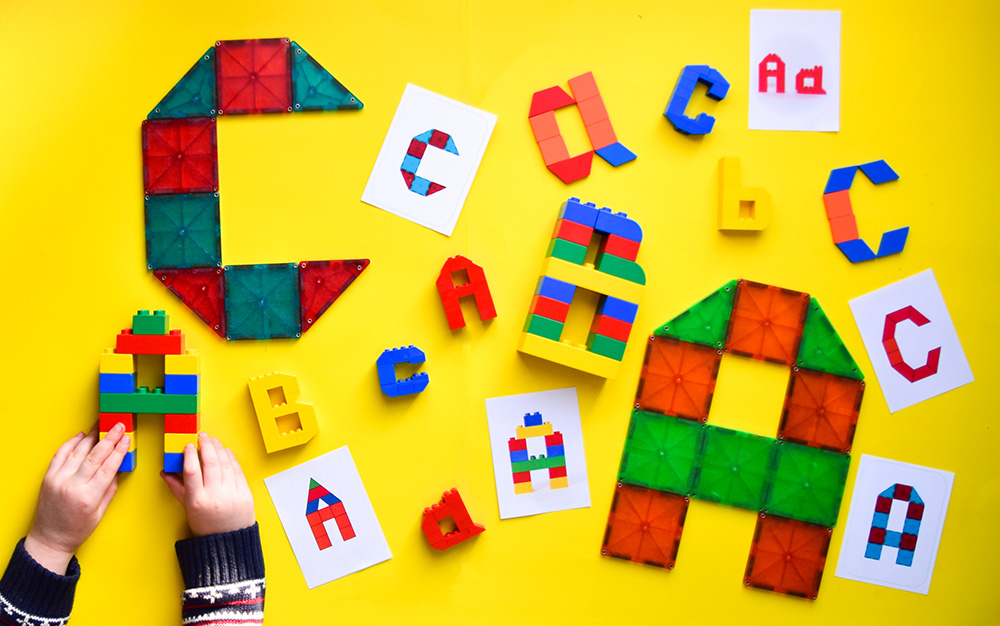 image relating to Lego Letters Printable referred to as LEGO Letters Printable