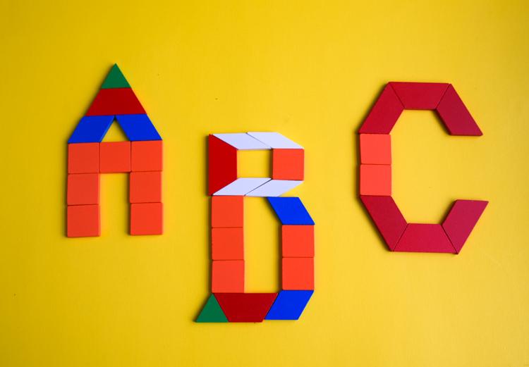 Pattern Block Alphabet Printable Cards Adventure In A Box