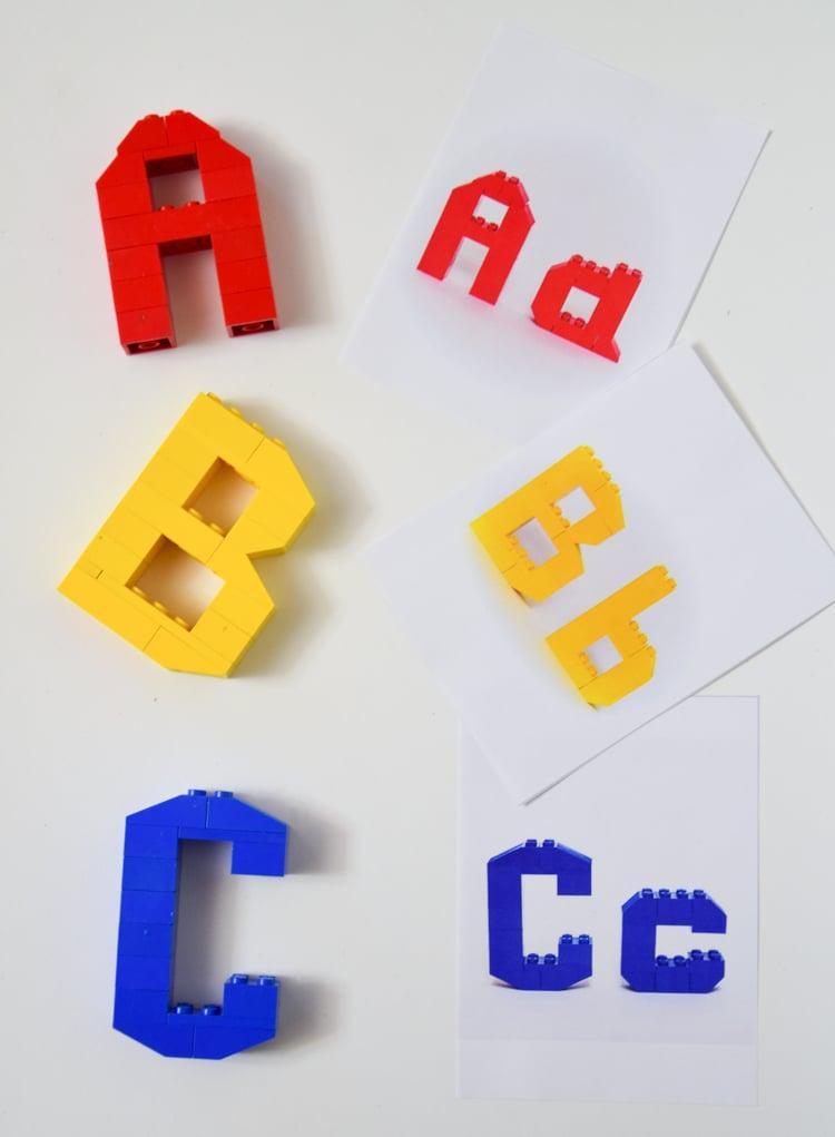 lego 3d alphabet printable cards adventure in a box