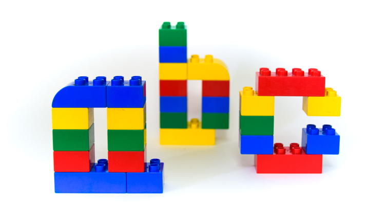 LEGO Duplo Alphabet Mats: Uppercase & Lowercase Letters